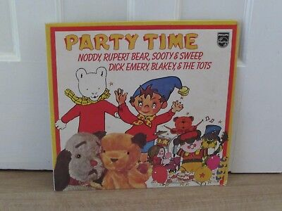 Noddy (6), Rupert Bear, Sooty & Sweep& The Tots ‎– Party Time