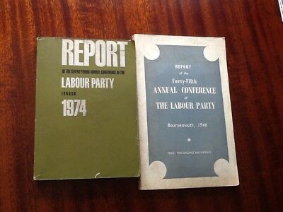 Reports of the Annual Conference of The Labour Party 1946 and 1974