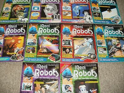 Ultimate Real Robots Issues 20-29