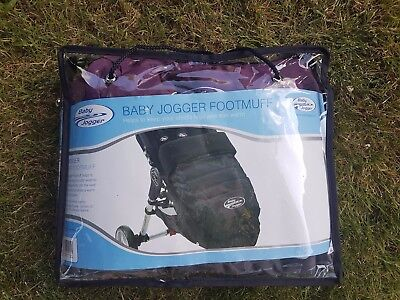 Footmuff for Baby Jogger City Mini stroller (Purple/Grey) Immaculate