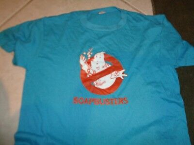 80s XL tag L fit VTG Soap busters soft thin 50/50 t-shirt Dirty Bath ghost