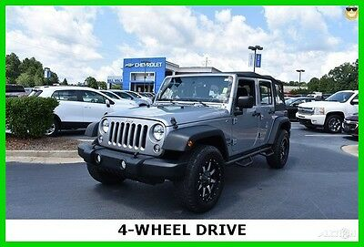 2014 Jeep Wrangler Sport 2014 Jeep Wrangler Unlimited 4wd Sport Automatic Upgraded Wheels & Tires!