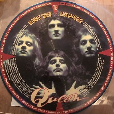 """Queen - The Ultimate """"queen"""" Back Catalogue Picture Disc Italian Rare Lp"""