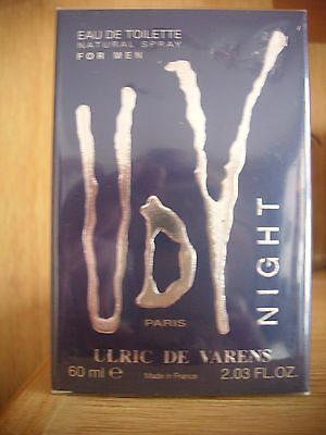 ULRIC DE VARENS NIGHT Eau de Toilette 60 ml OVP NEU