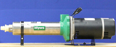 Myers PB71-8 multi-stage pressure booster pump