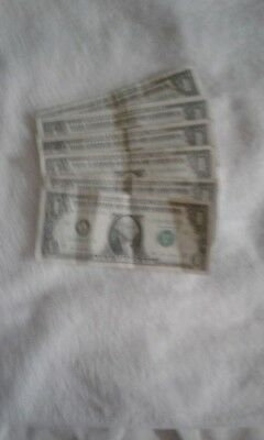 This mixed up us currency 6 -2006-2013 bill contact seller serial activ.