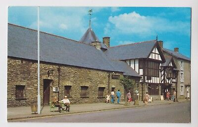 POSTCARD - The Institute, Machynlleth, Powys, Wales