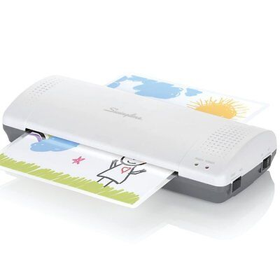 Swingline Thermal Laminator,Inspire Plus,Quick Warm-Up,with  Laminating Pouches