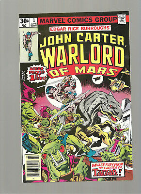 John Carter Warlord Of Mars #1  High Grade 9.6/9.8  Copy