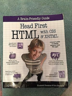 Head First HTML and CSS by Eric Freeman, Elisabeth Robson (Paperback, 2012)