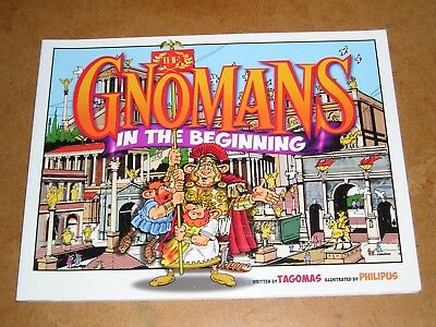 Comic / Graphic Novel - The Gnomans In The Beginning - Roman Britain, Humour