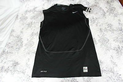 Nike Mens ProCompetition Basic Layer Sleevess Compression shirt Dri-Fit Size XL