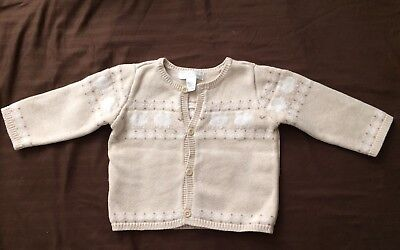 Janie And Jack Toddler Girls Sweater 12-18 Months