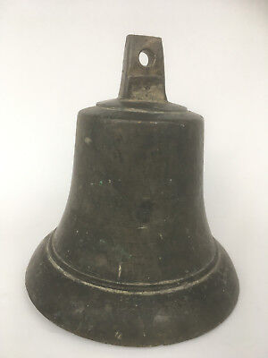 CAMPANA GRANDE DE BRONCE ANTIGUA 3,6 kg - Large and heavy Bell