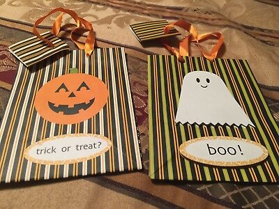 Halloween bags 2 lot great and in time for the upcoming trick or treatseason