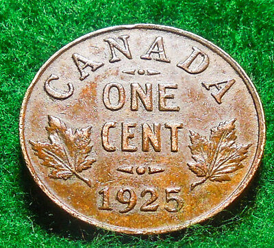 1925 Canada Cent (Key Date)