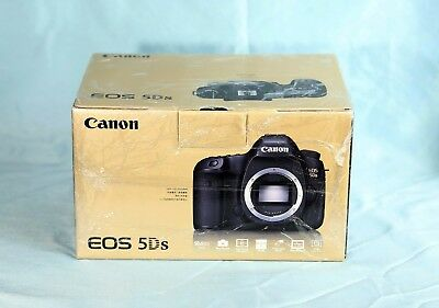 Canon EOS 5DS 50.6MP Digital SLR Black US Body - Mint - Ship Fast