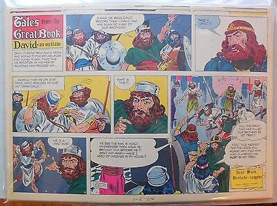 (49) Tales from the Great Book by John Lehti from 1964 Half Page Size!