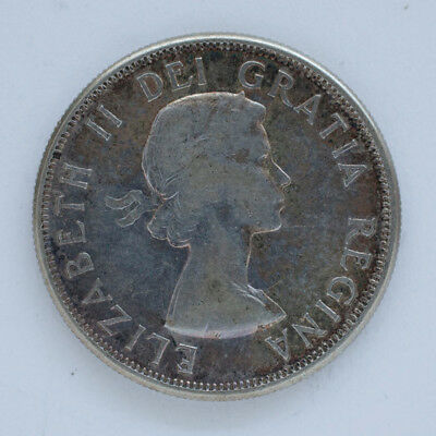 1961 Canada 50 cents Silver Coin - please rate_ NO RESERVE