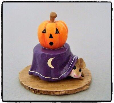 Wee Forest Folk Halloween Table purple M-191a *Special - FairyTales**