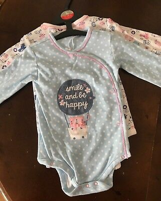 Baby Girl Long Sleeve Vest 12-18 Months