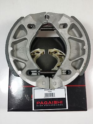 Yamaha Ybr125 Rear Brake Shoes With Springs 2007 To 2015 Inc Custom Model