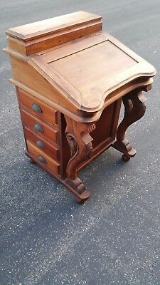 Antique Davenport Captains Desk - Great Condition - Beautiful