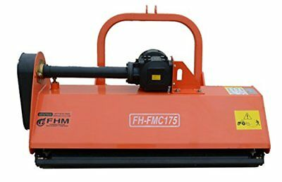 "68"" Centered Heavy Duty Flail Row Mower with Hammer Blades"