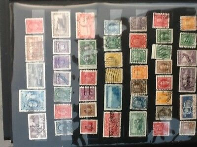 Nice selection of Canadian Used Stamps VG Lot 5968