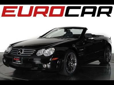 2005 Mercedes-Benz SL-Class SL65 AMG 2005 Mercedes-Benz SL65 AMG Roadster - Black Nappa Leather Interior w/ Wood Trim