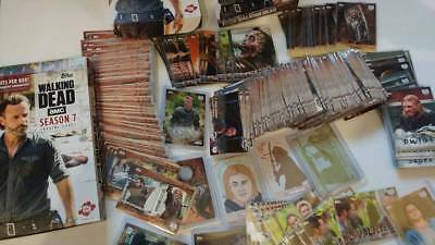 Topps The Walking Dead TWD AMC Season 7 You Pick Cards Lot Set Completer 2017