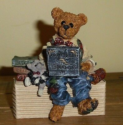 Boyds Bearstone Collection - Neveille...compubear