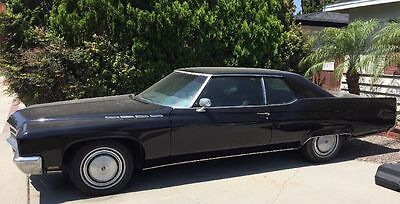 1971 Buick Electra  1971 Buick Electra 225 Black on Black 455ci Engine Classic