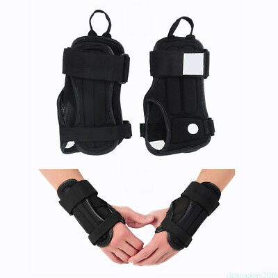 2pc Wrist Support Protector Glove Brace Outdoor Protective Gear Hand Guard wz03