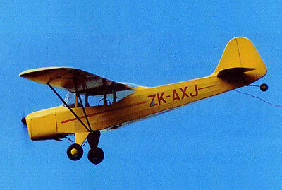 Model Airplane Plans (RC): Auster J-5 Adventurer Scale for .20ci Engine