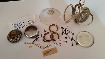 Pocket  Watch Parts  1