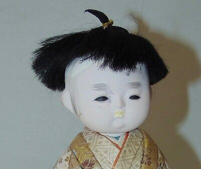 VINTAGE JAPANESE Doll CHILD Little Boy