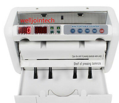 K-1000 Money counter for EURO US DOLLAR Multi-Currency Compatible Bill Counter