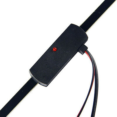 NEW Car Hidden Amplified Antenna 12v Electronic Stereo AM/FM Radio Universal HOT