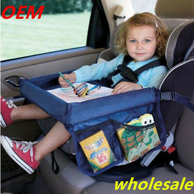 Car styling High Quality Waterproof Table Car Seat Tray Storage Kids Toys Infant