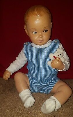 """Vintage Baby/Toddler Mannequin Doll American Fixture Store Display 1950's 17"""""""