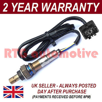 Front 5 Wire Wideband Oxygen Lambda O2 Sensor For Volvo C70 I Coupe 2.5 T 99-02