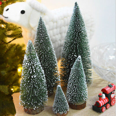 Tabletop Christmas Pine Tree White Mini White Pine Tree Small Decorations 2018