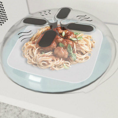 Food Guard Magnetic Guard Microwave Hover Anti-Sputtering Cover with Steam Cap