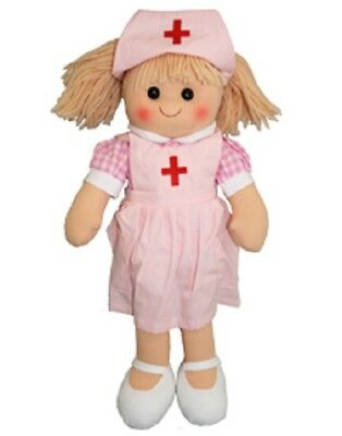 New Hopscotch Childs Toy Rag doll woollen hair soft body & outfit ragdoll Thelma
