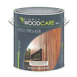 UVEX Timber Primer Decking & Wood Care Paint Painting