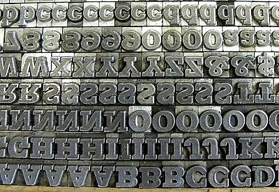 Letterpress Printing Type: Rockwell Antique Shaded, 18pt [L787]