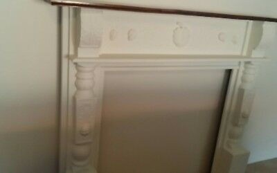 white fireplace surround timber pick up ashmore 4214    or send at byers expense