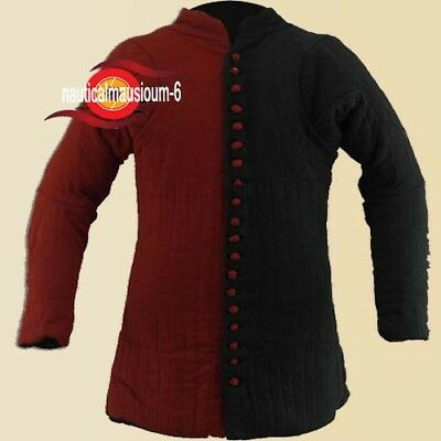 A Medieval Gambeson Halloween Gift Thick padded coat Jacket Armor COSTUMES DRESS