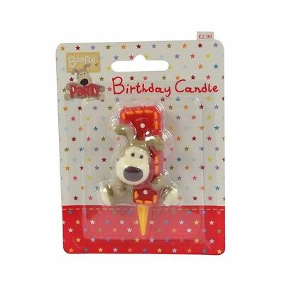 boofle 1st  birthday candle
